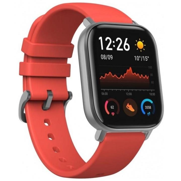 Умные часы Xiaomi Huami Amazfit GTS Smart Watch Vermillion Orange (EU, оранжевый)