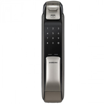 Электронный замок с отпечатком пальца Samsung SHP-DP728 Dark Silver
