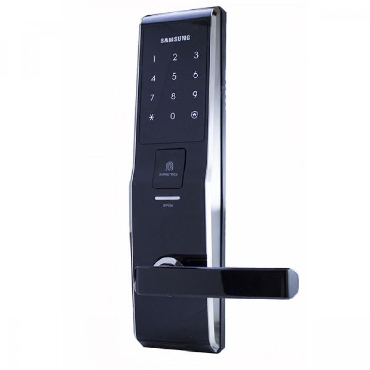 Электронный замок с отпечатком пальца Samsung SHS-H705/5230 Black