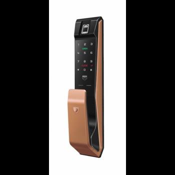 Электронный замок с отпечатком пальца LocPro K500B4GF Series Gold