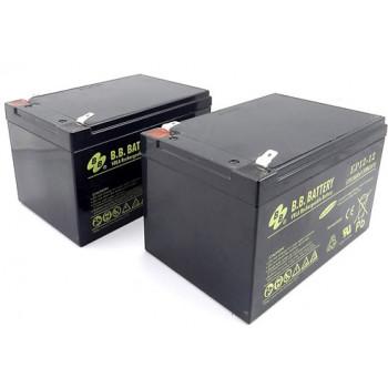 Комплект из двух аккумуляторов robomow для City110/100 и моделей RM (12 Аh)