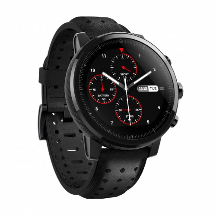 Умные часы xiaomi  Amazfit Stratos Premium Edition (Smart Sports Watch 2S Premium Edition) черный международная версия