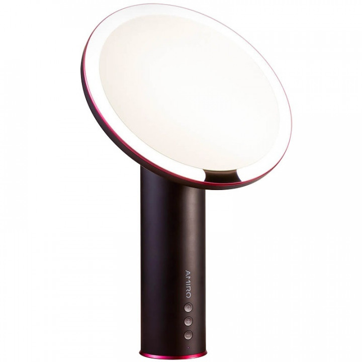 Зеркало для макияжа Xiaomi Amiro Daylight Mirror (AML005B) (черный)