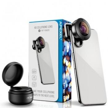 Объектив Apexel APL-HD5F (195 Fisheye Lens)
