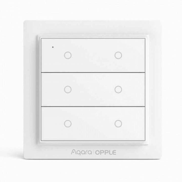 Выключатель Xiaomi Aqara Opple Wireless Switch WXCJKG13LM (6 кнопок)