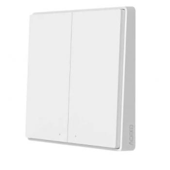 Xiaomi Aqara Smart Wall Switch D1 (Двойной с нулевой линией) (QBKG24LM)