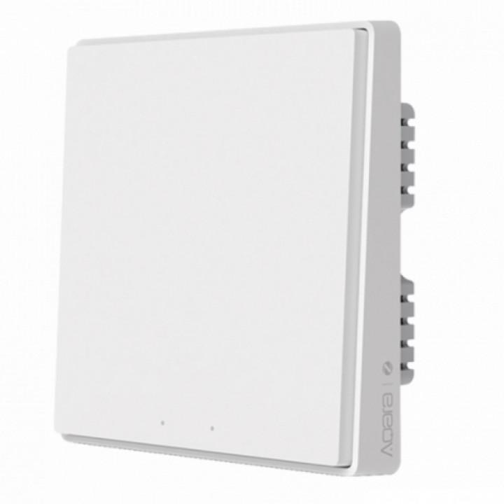 Умный выключатель Xiaomi Aqara Smart Wall Switch D1 (Одинарный с нулевой линии) White (QBKG23LM)