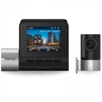 Видеорегистратор Xiaomi Dash Cam Pro Plus+Rear Cam Set A500S-1, 2 камеры, GPS, ГЛОНАСС, черный