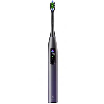 Звуковая зубная щетка Oclean X Pro, aurora purple