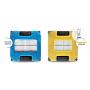 Набор чистящих салфеток из микрофибры для Hobot-268, Hobot-288, Hobot-298 (желтые)