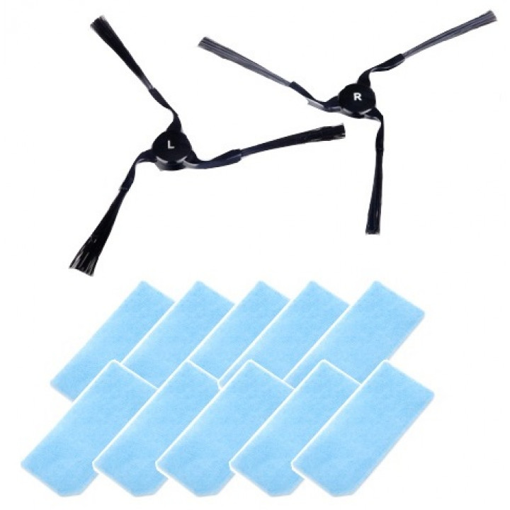 Набор расходных материалов №7 для роботов-пылесосов iClebo Arte, A3, Pop