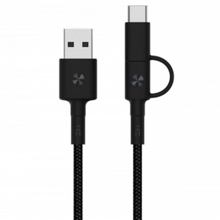 Кабель 2in1 USB/Micro/Type-C Xiaomi ZMI 100см (AL403)