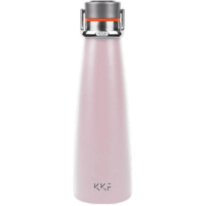 Термобутылка Xiaomi Kiss Kiss Fish KKF с OLED-дисплеем, 0.475 л розовый