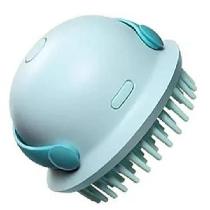 Антистатическая массажная расческа Xiaomi Kribee Little Jellyfish Shampoo Artifact Mocha Green