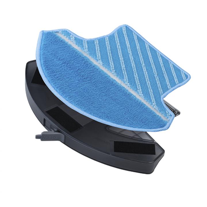 Насадка для влажной уборки + салфетка робота пылесоса Linnberg
