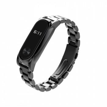 Mijobs Steel для Xiaomi Mi Band 2 black