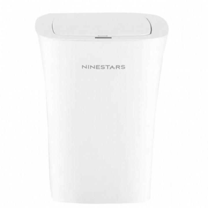 Мусорное ведро Xiaomi Ninestars Waterproof Trash Can 10L White (белый)