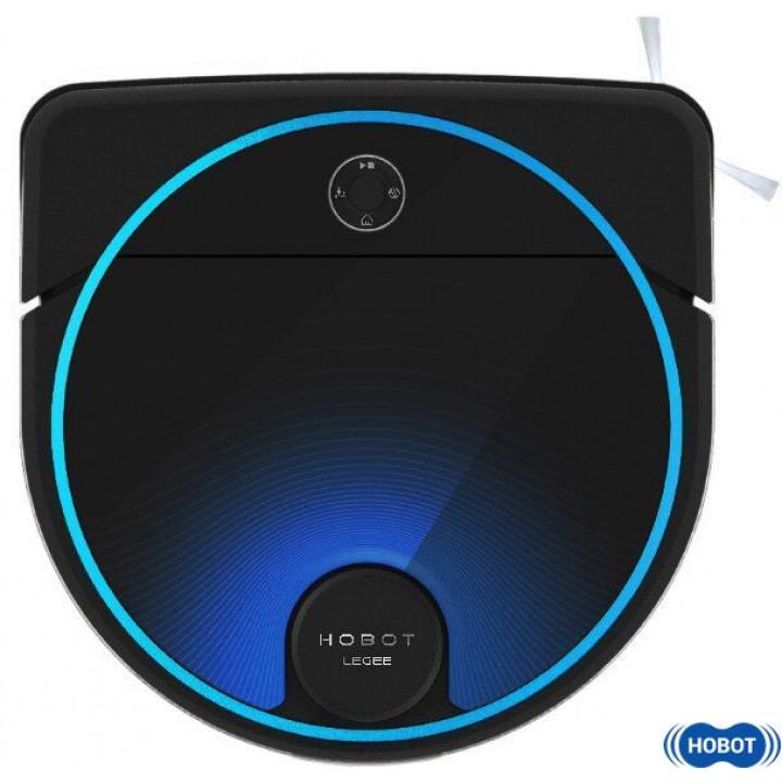 Робот-пылесос HOBOT Legee-7, черный/синий