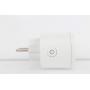 Розетка ELARI Dual Smart Socket, с защитной шторкой, с заземлением, белый