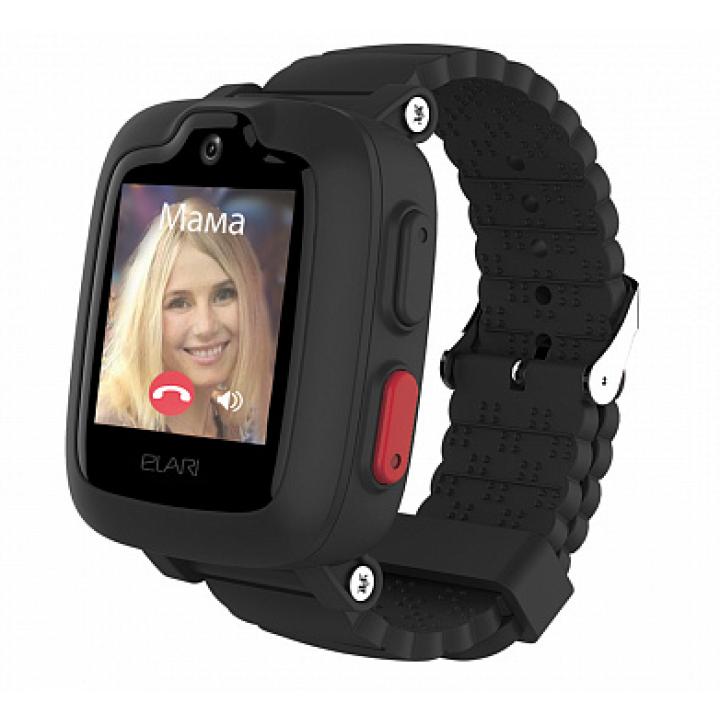 Часы ELARI KidPhone 3G Black