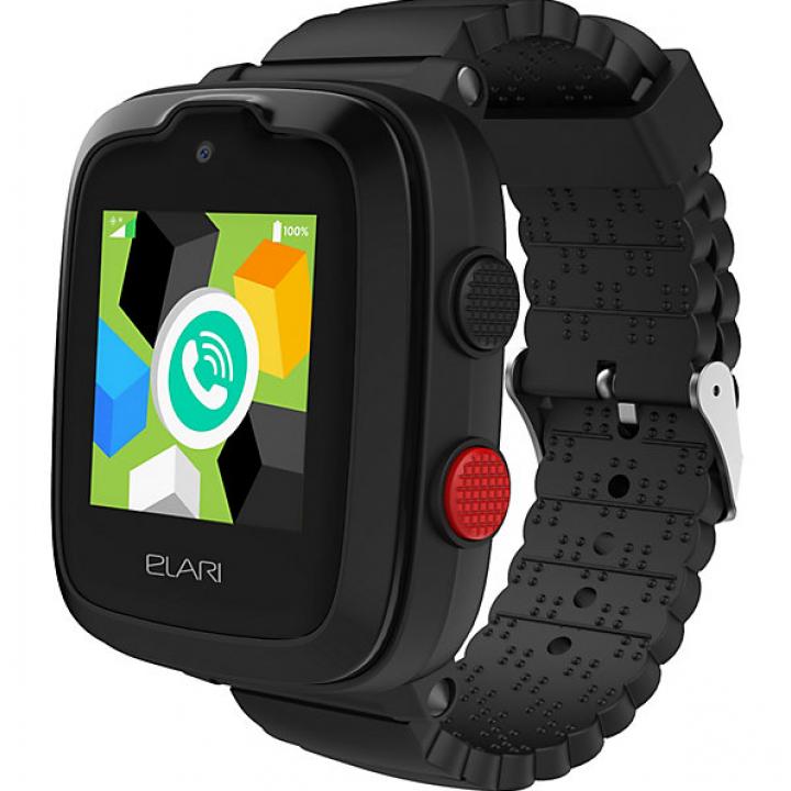 Часы ELARI KidPhone 4G black