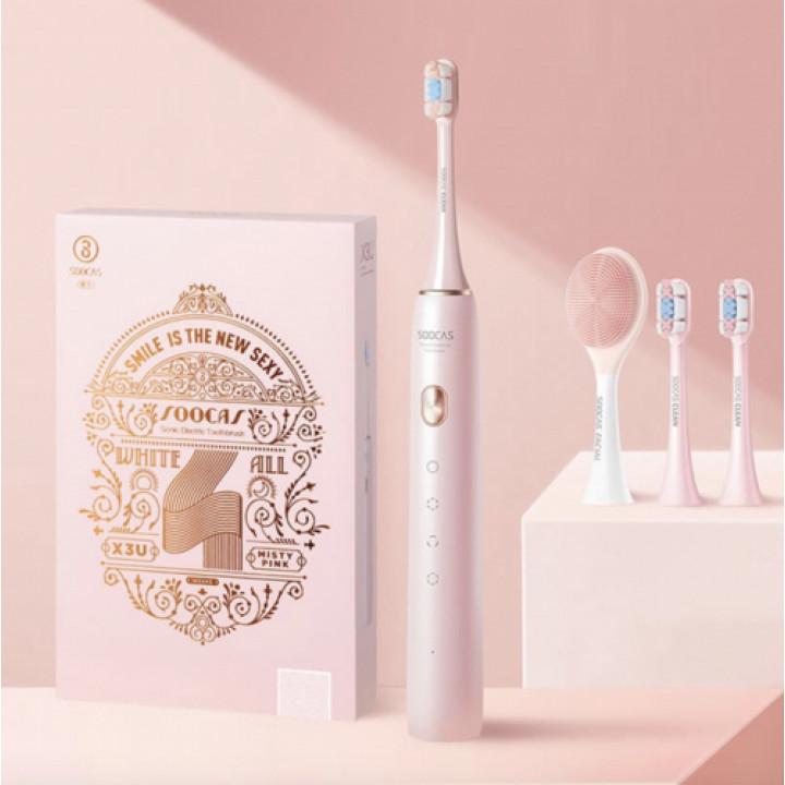 Электрическая зубная щетка Soocas X3U розовая