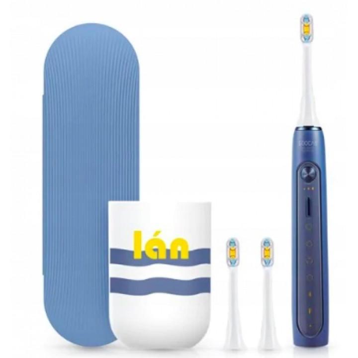 Электрическую зубную щётку Xiaomi Soocas X5 синюю