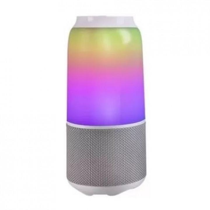 Портативная колонка Xiaomi Velev V03 Colorful Lighting Sound с подсветкой (Белый)