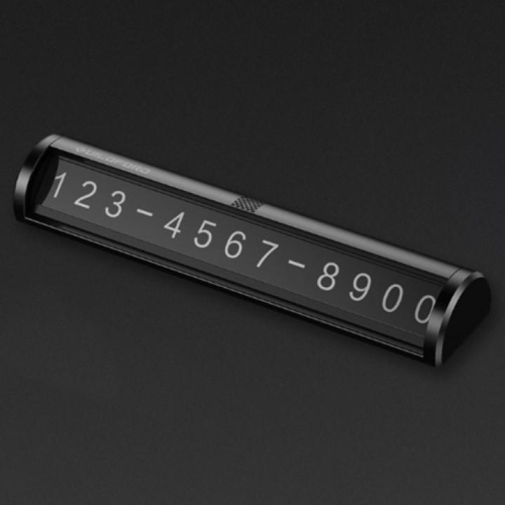 Автодержатель Xiaomi Guildford temponary parking card / временная парковочная карта black