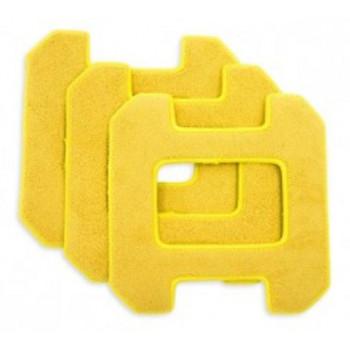 Комплект салфеток для влажной уборки для Hobot 268/288/298 желтые (3 шт)
