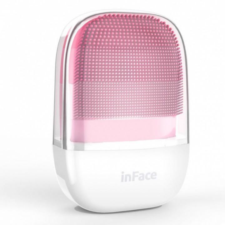 Массажер Xiaomi InFace Electronic Sonic Beauty cleaner аппарат для ультразвуковой чистки лица розовый