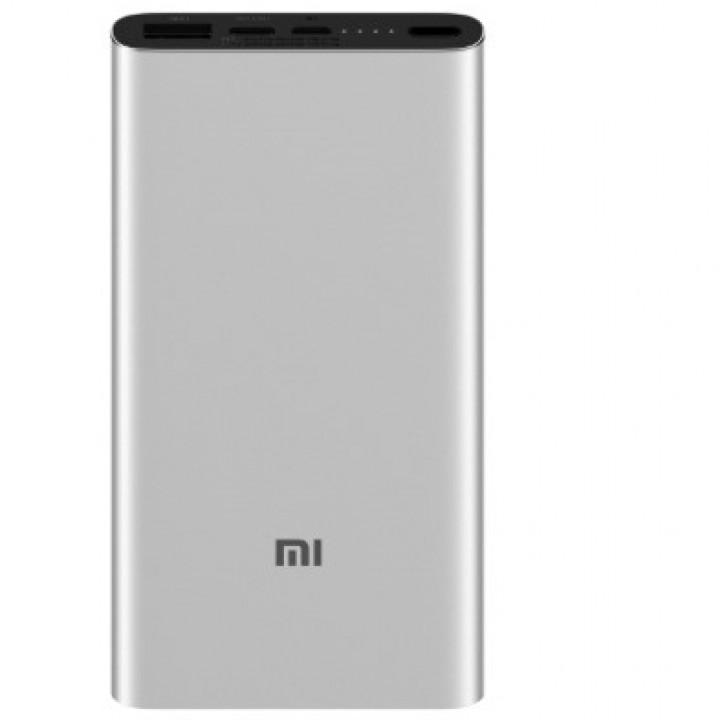 Внешний аккумулятор Power Bank Xiaomi Mi Power 3 10000 mAh серебристый