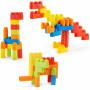 Конструктор Xiaomi Mitu Hape80 гибкие строительные блоки