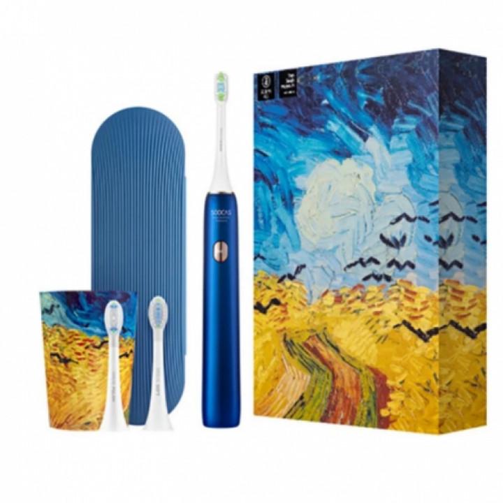 Электрическая зубная щетка Soocas X3U Van Gogh Museum Design синяя