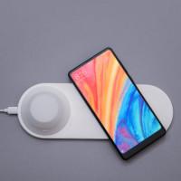 Xiaomi Yeelight Wireless Charger and lamp беспроводное зарядное устройство с ночником белый