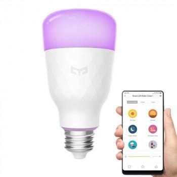 Лампочка Xiaomi Yeelight Smart Led Bulb (colour) YLDP06YL белый