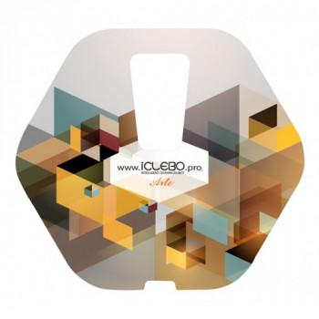 """Защитная виниловая наклейка с Авторским дизайном """"Epic"""" для пылесоса iClebo Arte от магазина iClebo.pro"""