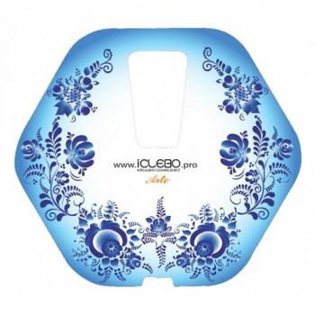 """Защитная виниловая наклейка с Авторским дизайном """"Gjel""""  для пылесоса iClebo Arte от магазина iClebo.pro"""