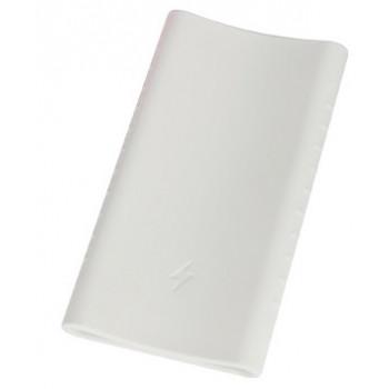 Силиконовый чехол для Xiaomi Power bank 2C (белый)