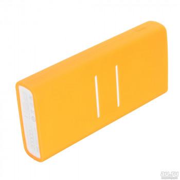 Силиконовый чехол для Xiaomi Power bank 2C (оранжевый)