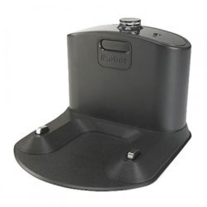 Компактная напольная зарядная база с интегрированным блоком питания для iRobot Roomba