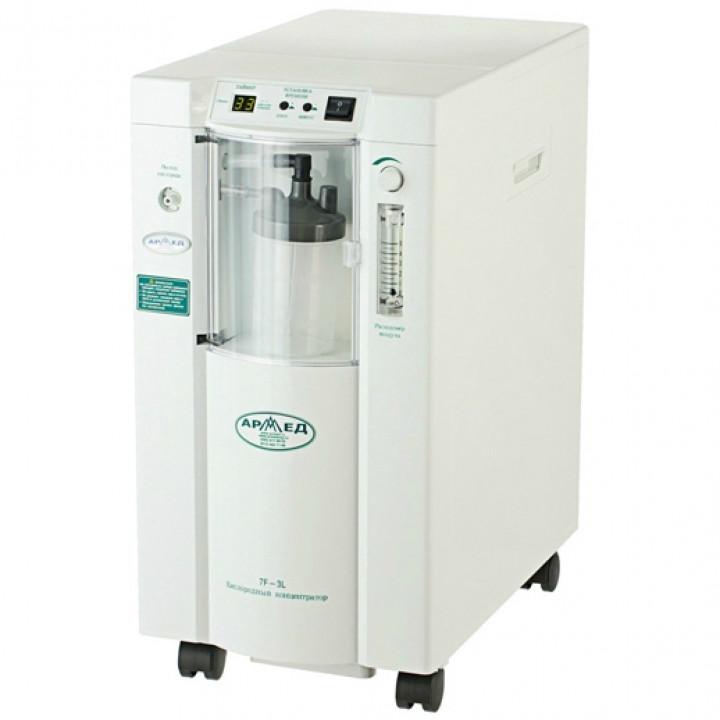 Концентратор кислорода Армед 7F-3L с выходом для ингаляций