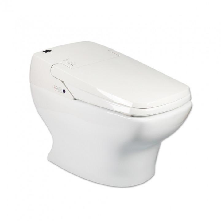 Электронный унитаз SensPa Tankless TCB-080S Round Ceramic