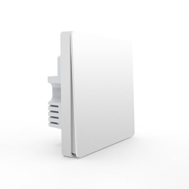 Электровыключатель Aqara Smart Light Control Zigbee однокнопочный встраиваемый