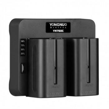 YongNuo YN750C адаптер для NP-550/750/960/970.