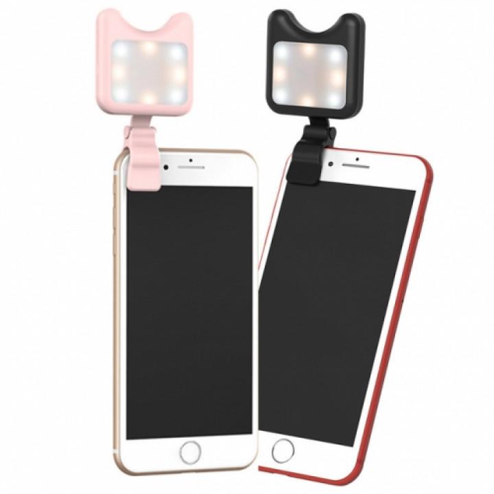 Подсветка для смартфона Apexel APL-FL01 LED black