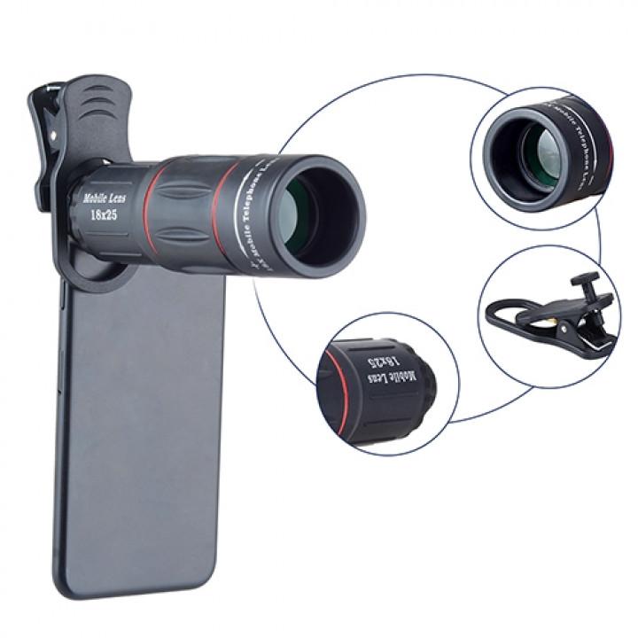 Объектив Apexel APL-T18ZJ 18X Telephoto Lens with Tripod для Apple iPhone 6/7/8 Plus смартфонов