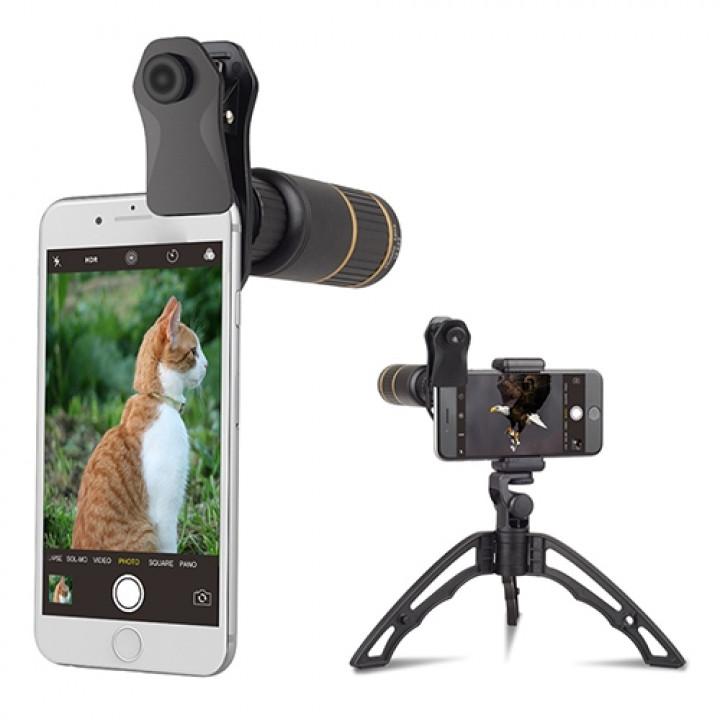 Объектив Apexel APL- JS16X104D5 16X Telephoto Lens + tripod