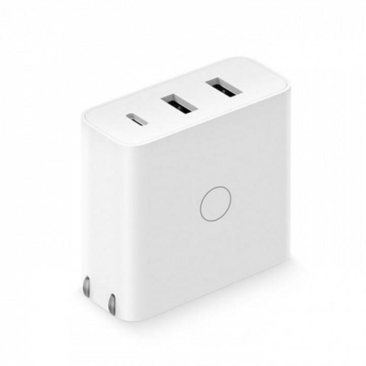 Зарядное устройство Xiaomi ZMI HA832 USB-C / USB-A Mi Notebook Air / Apple MacBook charger