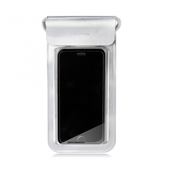 Водонепроницаемый чехол для смартфона Xiaomi Guldford Waterproof bag 220 x 105mm белый